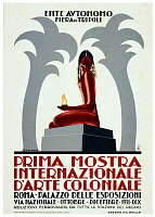 0616800 © Granger - Historical Picture ArchiveLIBYA / ITALY.   Advertising poster for the Fiera de Tripoli (Tripoli Fair), 1931. Full credit: Pictures from History / Granger, NYC -- All rights reserved.