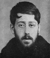0618636 © Granger - Historical Picture ArchiveRUSSIA.   Julius Martov (1873-1923), Russian politician and leader of the Menshevik Faction; mugshot taken by Tsarist police, January 1896. Full credit: Pictures from History / Granger, NYC -- All rights reserved.