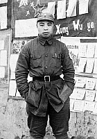 0620735 © Granger - Historical Picture ArchiveCHINA.   Wu Faxian, Political Commissar of the New Fourth Army Third Division, c. 1940. Full Credit: CPA Media - Pictures from History / Granger, NYC.