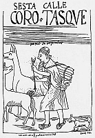 0038000 © Granger - Historical Picture ArchiveINCA SHEPHERD.   Inca shepherd with his llamas. Drawing from 'El primer nueva cronica y buen gobierno' [The first new chronicle and good government], 1583-1615, by Felipe Guaman de Ayala.