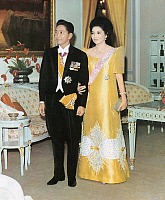 0114679 © Granger - Historical Picture ArchiveFERDINAND MARCOS   (1917-1989). President of the Philippines, 1965-1986. Photographed with his wife, Imelda, late 20th century.