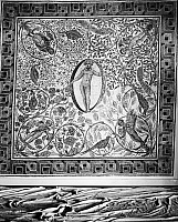 0001754 © Granger - Historical Picture ArchiveROMAN MOSAIC, 3rd CENTURY.   A Roman mosaic depicting the cycles of the year, 3rd century A.D.