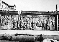 0001755 © Granger - Historical Picture ArchiveROMAN FORUM.   Bas-relief from the Roman Forum.