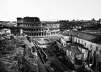 0124863 © Granger - Historical Picture ArchiveROME: COLOSSEUM.   View of the Colosseum from the Arch of Titus in Rome. Photograph, early 20th century.