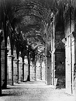0124883 © Granger - Historical Picture ArchiveROME: COLOSSEUM ARCADE.   Outer arcade on the ground floor of the Colosseum in Rome. Photograph, 20th century.