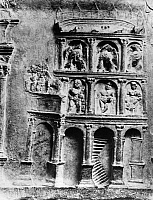 0131044 © Granger - Historical Picture ArchiveROMAN RELIEF: COLOSSEUM.   Relief depiction of the main entrance of the Colosseum in Rome. Detail from the tomb of the Haterii, late 1st-early 2nd century A.D.