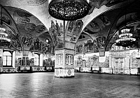 0128961 © Granger - Historical Picture ArchiveMOSCOW: PALACE OF FACETS.   Reception hall at the Palace of Facets in the Moscow Kremlin, Russia. Photograph, mid 20th century.