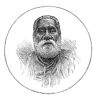 0268087 © Granger - Historical Picture ArchiveSERU EPINISA CAKOBAU   (1815-1883). Fijian chief and warlord. Engraving, English, 1873.