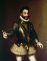 0104483 © Granger - Historical Picture ArchiveEMMANUELE FILIBERTO   (1528-1580). Duke of Savoy and general for Philip II of Spain. Oil on canvas, late 16th century.
