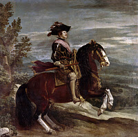 0104530 © Granger - Historical Picture ArchiveKING PHILIP IV OF SPAIN   (1605-1665). King of Spain, 1621-1665. Oil on canvas, 1636, by Diego Velazquez.