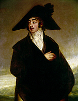 0104781 © Granger - Historical Picture ArchiveGOYA: COUNT, 1803.   The Count of Fernan-Nunez. Detail of an oil on canvas, 1803, by Francisco Goya.