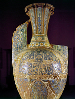 0104900 © Granger - Historical Picture ArchiveSPAIN: MOORISH VASE.   Nasrid vase from the Alhambra Palace, Granada, Spain, 14th century.