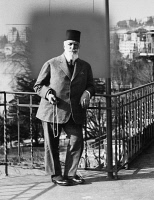 0083793 © Granger - Historical Picture ArchiveABDULMECIT II (1868-1944).   Also known as Abdul Mejid II. Last caliph of the Ottoman Empire, 1922-1924. Photographed in exile in Switzerland.