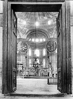 0127529 © Granger - Historical Picture ArchiveTURKEY: HAGIA SOPHIA.   Looking toward the apse of Hagia Sophia in Istanbul. Photograph, mid-20th century.