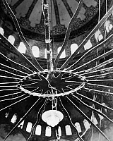 0216229 © Granger - Historical Picture ArchiveISTANBUL: BLUE MOSQUE.   Architectural detail of a lantern inside the Blue Mosque in Istanbul, Turkey. Photograph by John van Rolleghem, mid 20th century.