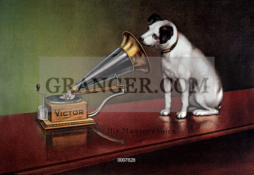 RCA VICTOR TRADEMARK. 