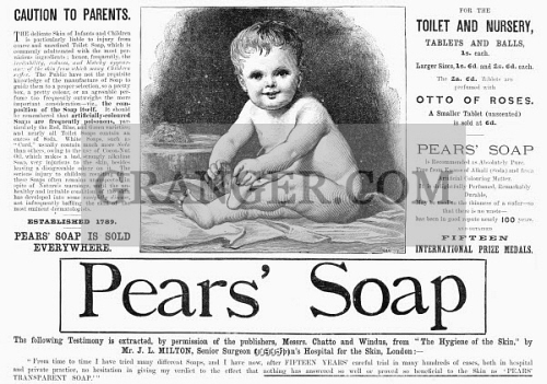 PEARS' SOAP, 1887. 
