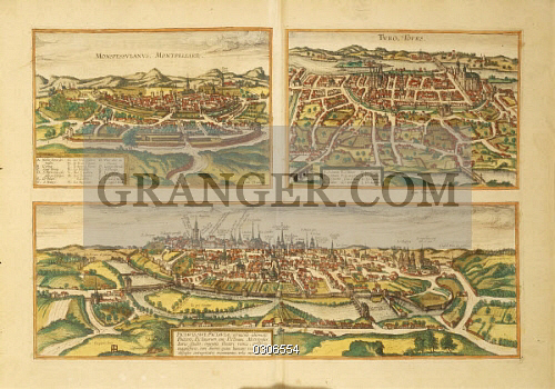 Image Of Fine Art Cartography France 16th Century Map Of