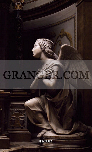 Image of ART & ARCHITECTURE  - Adoring Angel, By Matteo Di