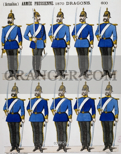 Image of HISTORY  - Dragoons Of The Prussian Army, Franco-Prussian