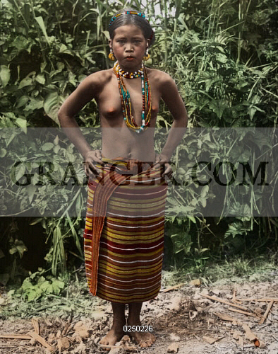 Image Of Northern Luzon Philippines A Kalinga Igorot Woman In