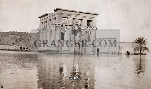 Image of PHILAE ISLAND, NILE RIVER, EGYPT  - The Ancient