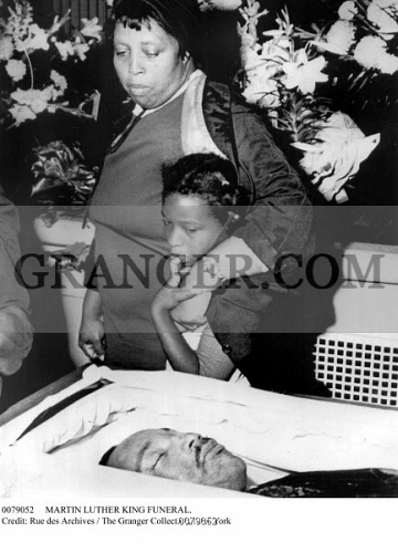 Image Of Martin Luther King Funeral The Body Of Slain Civil