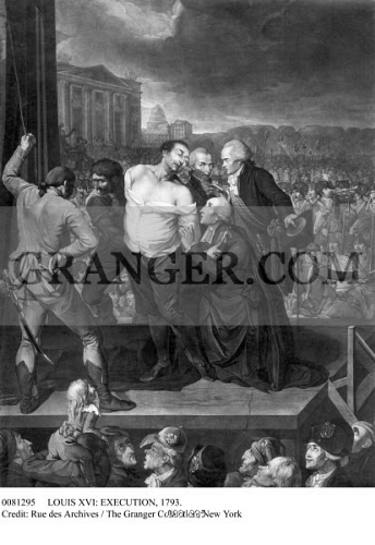 why was king louis xvi executed