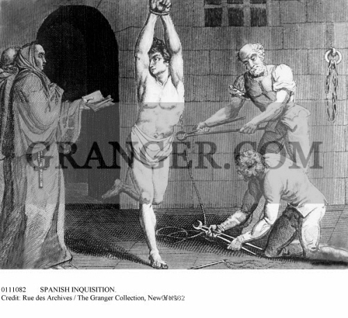 the witch hunt over the 15th to 18th centuries An iron ring set in the stone pillar of a 15th-century chapel in the scottish city of aberdeen may not look like much, but historians say it could be a link to the trial and execution of 24 people .