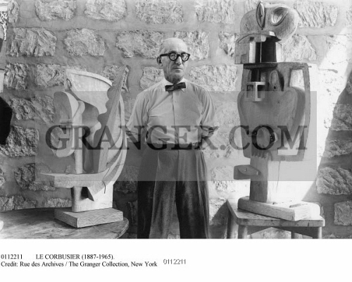 Image Of Le Corbusier 1887 1965 Assumed Name Of Charles Edouard
