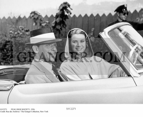 Image of FILM: HIGH SOCIETY, 1956  - Frank Sinatra And Grace