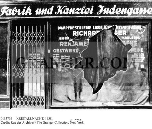 Kristallnacht map