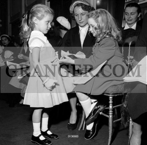 image of brigitte fossey young actress brigitte fossey attending child fashion show at. Black Bedroom Furniture Sets. Home Design Ideas