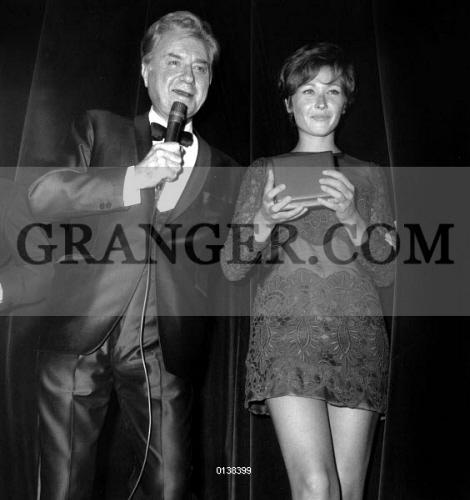 Image of CLAUDE DAUPHIN AND MARLENE JOBERT  - Nuit Du Cinema