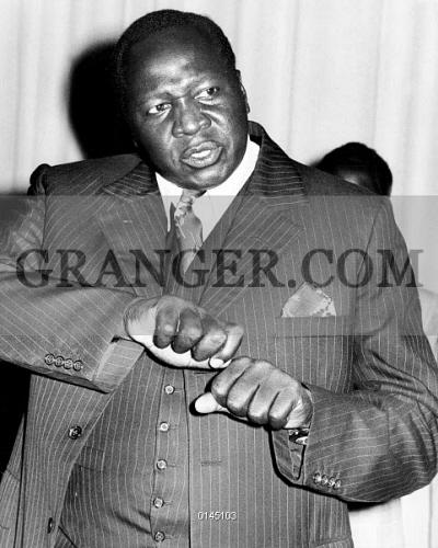 Image of IDI AMIN DADA  - General Idi Amin Dada, Uganda