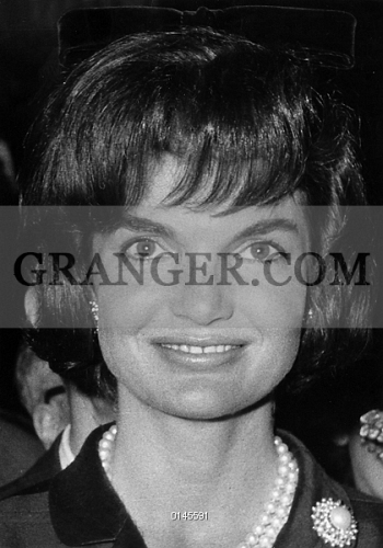 Image of JACQUELINE KENNEDY  - Jacqueline Kennedy, Wife Of
