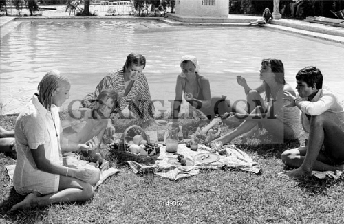 Image of la piscine christine caron alain delon maurice ronet romy schne - Christine caron piscine ...