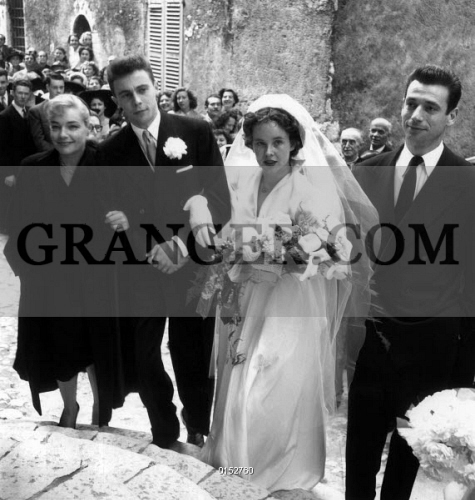 MARIAGE OF FRANCIS ROUX AND YVONNE TOURNE. Wedding of Francis Roux and Yvonne Tourne in