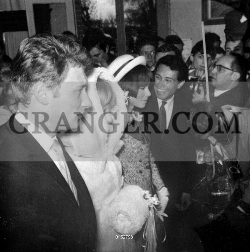 image of mariage of johnny hallyday and sylvie vartan wedding of mariage de johnny hallyday. Black Bedroom Furniture Sets. Home Design Ideas