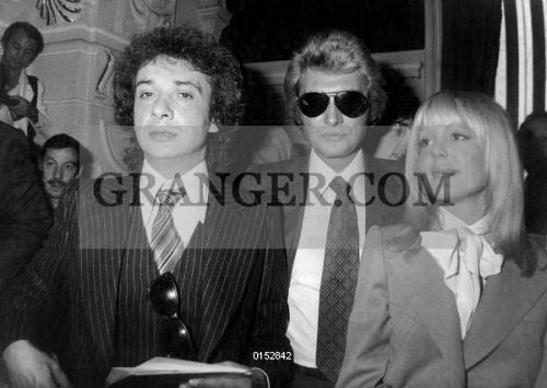 Image Of Mariage Of Michel Sardou With Elisabeth Haas