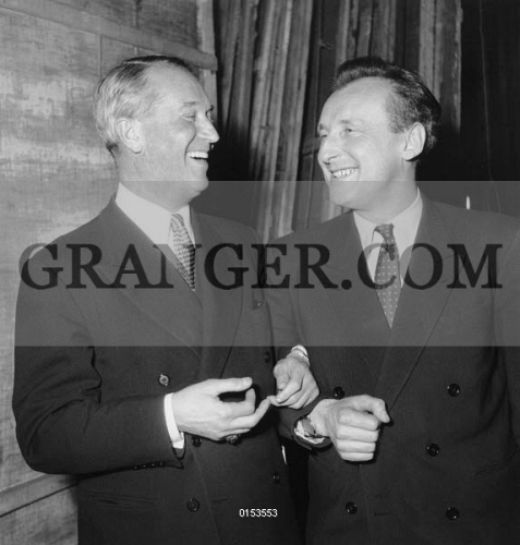 Image of MAURICE CHEVALIER AND BOURVIL  - Maurice Chevalier And