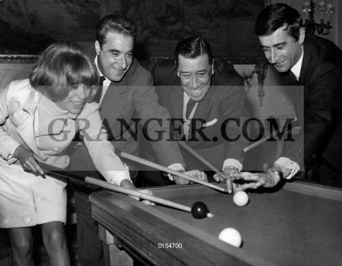 https://www.granger.com/wmpix/age/rue/0154700-MIREILLE-DARC-JACQUES-MOREL-FERNANDEL-AND-PIERRE-VERNIER-French-actors-Mireille-Darc-Jacques-Morel-Fernandel-and-Pierre-Vernier-playing-billiards-during-the-party-given-for-the-film-Diamantenbillard-on.jpg