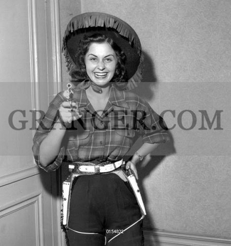 d89757b247e Image of MISS FRANCE 1953   SYLVIANE CARPENTIER. - Sylviane ...