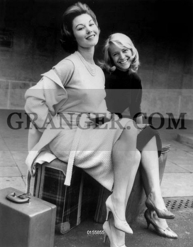 Image Of Nadine Tallier Nadine Tallier Future Nadine De Rothschild And Nicole Berger September 10 1958 Full Credit Agip Rue Des Archives Granger Nyc All Rights Reserved From Granger Historical Picture Archive