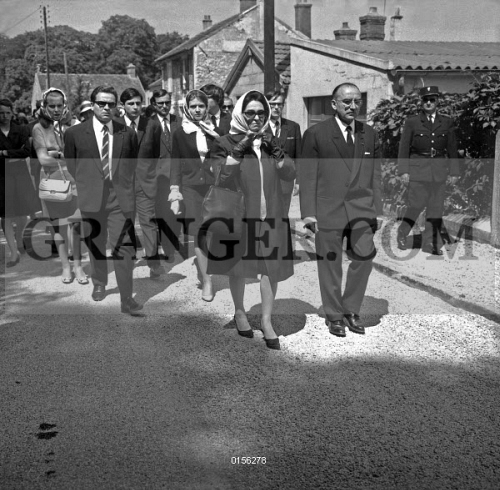 Image of OBSEQUES OF FRANCOISE DORLEAC. - Funeral Of Francoise Dorleac ...