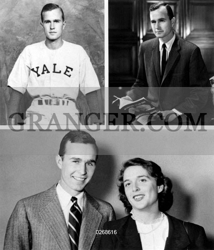 Image Of George H W Bush 1924 41st President Of The United