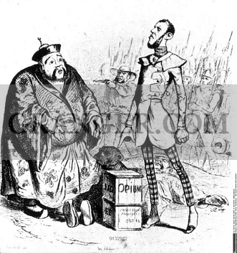 an analysis of the opium war in china in 18th century The opium trade, seventh through nineteenth centuries he anglo-chinese opium wars were the direct result of china's isolationalist and exclusionary trade policy with the west.