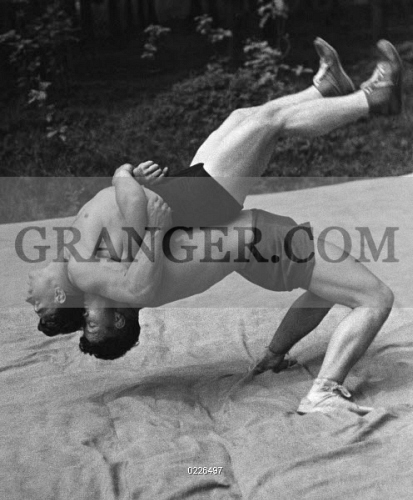 Image of PEOPLE  - German Empire : Freestyle Wrestling