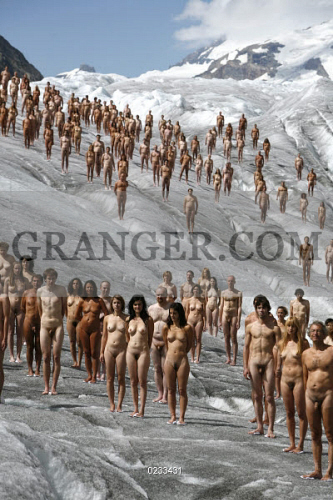 Spencer tunick nude art yet did