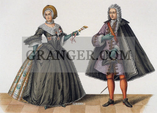Image Of Fashion Rococo Fashion Rococo Style Fashion Noblewoman Wearing A Loose Crinoline